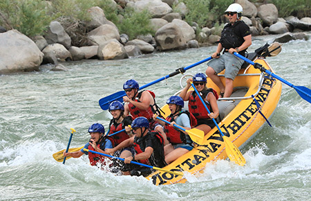 Yellowstone River Half Day Paradise Raft Trip