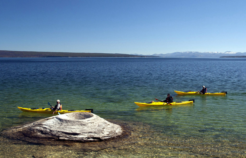 Yellowstone Lake Kayak Tours