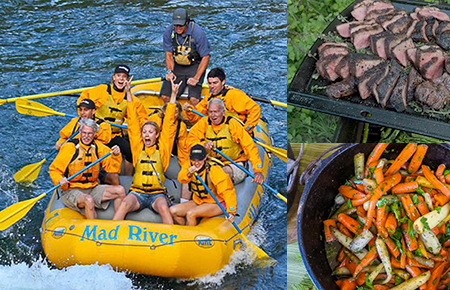 Jackson Hole 8-Mile Whitewater & Riverside Cast Iron Lunch/Dinner