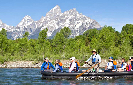 Grand Teton Park Scenic Float Trip
